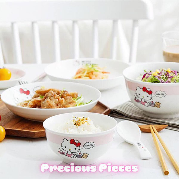 hello kitty tableware meal