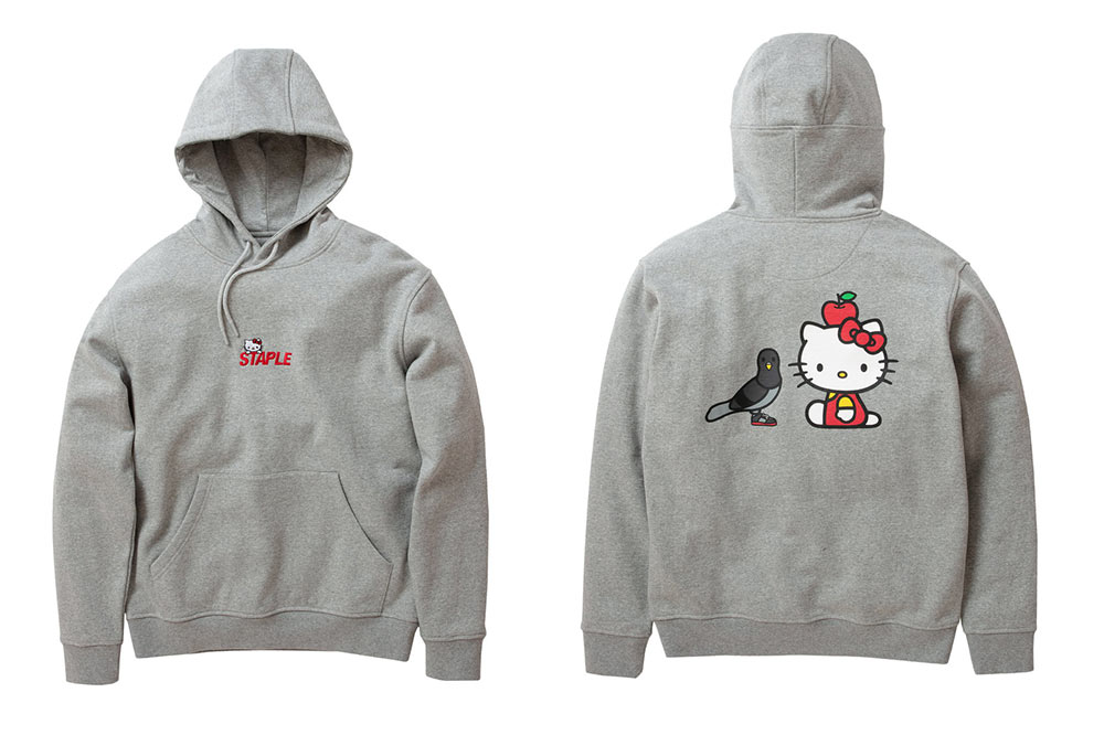 hello-kitty-staple-pigeon-hoodie-grey
