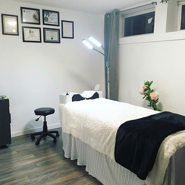 home-based beauty business salon