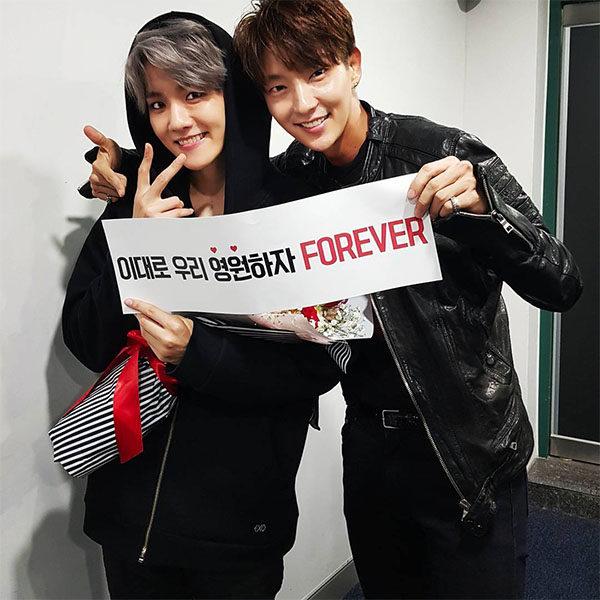 lee joon gi and baekhyun (concert)