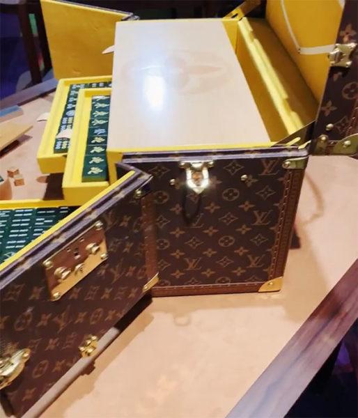 louis vuitton mahjong set leather