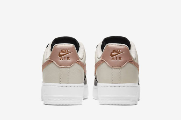 nike air force 1 '07 black and pink 3