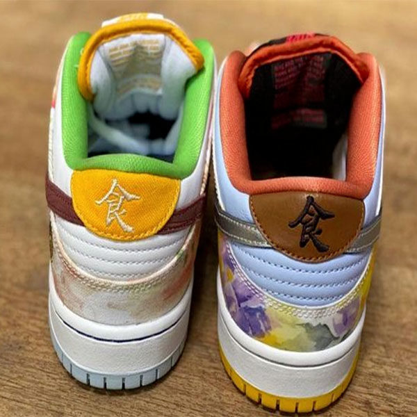 nike cny sneakers year of ox back view