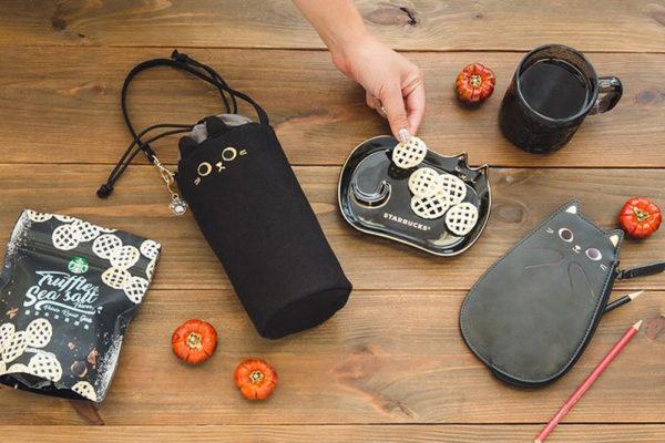 starbucks taiwan halloween 2020 accessories