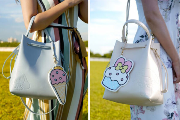 the sophia label sanrio bucket bag cinnamoroll my melody