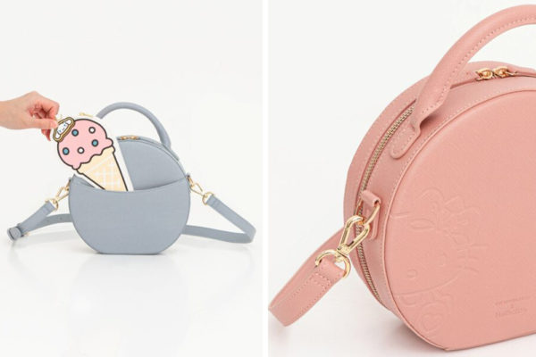 the sophia label sanrio crossbody bag hello kitty cinnamoroll