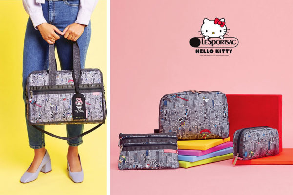 hello kitty lesportsac 2020 nyc collage
