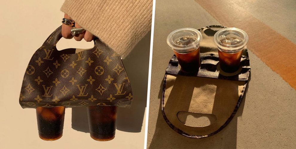 louis vuitton drink carrier cover