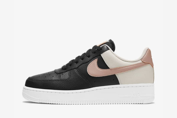 nike air force 1 '07 black and pink 2