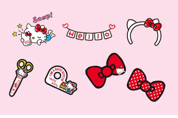 canon hello kitty stickers