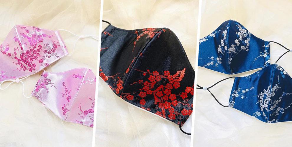 cheongsam face mask cover