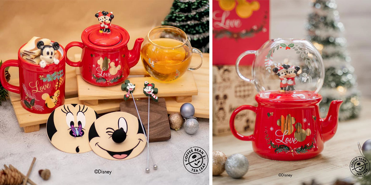 Coffee Bean x Disney's Holiday Collection Starring Mickey ...