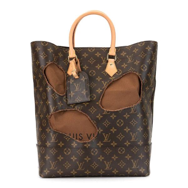 louis vuitton monogram tote with drawstring bag