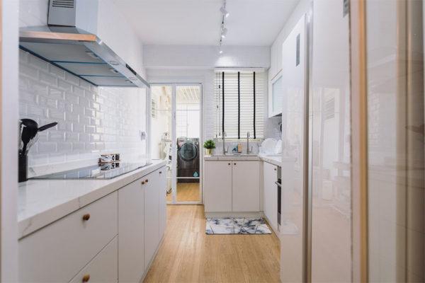 scandinavian pastel home kitchen
