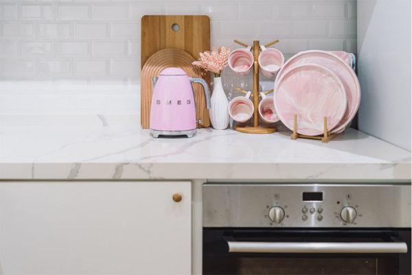 scandinavian pastel home kitchenware