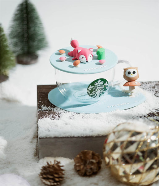 starbucks woodland animal fox
