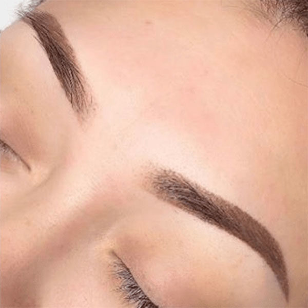 affordable eyebrow embroidery teenyweenylashes ombre brows