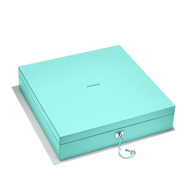 tiffany co mahjong set box
