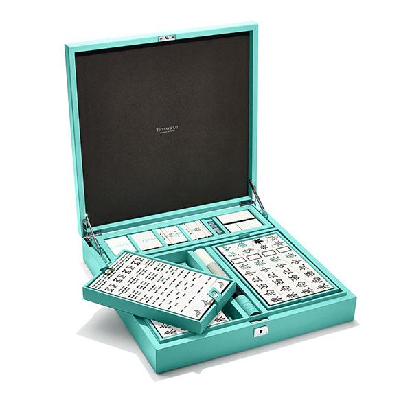 tiffany co mahjong set