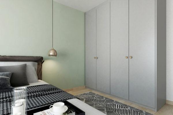 tiffany blue bto bedroom