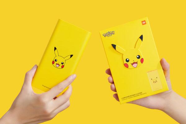 xiaomi pikachu powerbank
