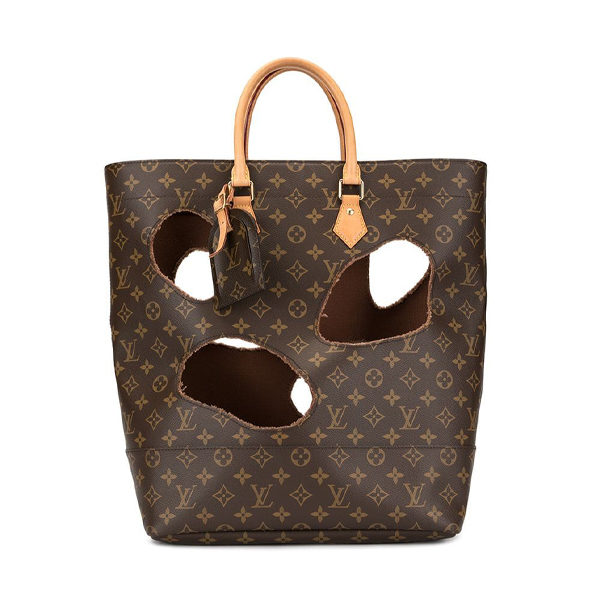 louis vuitton monogram tote front view