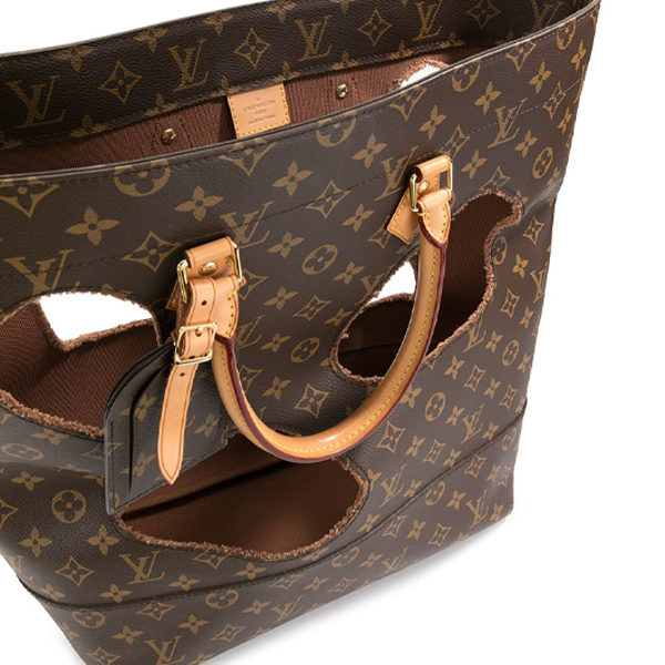 louis vuitton monogram tote top view