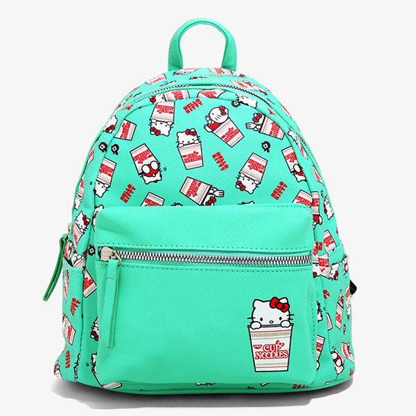 sanrio nissin cup noodles hello kitty bag