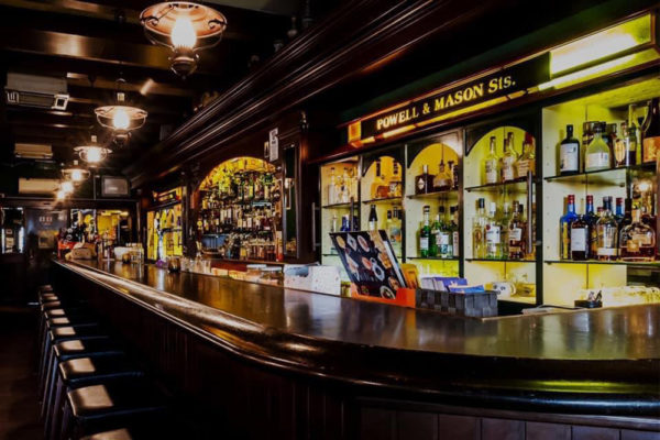 whisky journey cable car 1890's saloon
