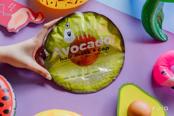 bear fruits avocado hair masks