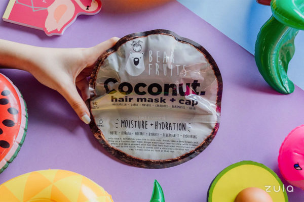 bear fruits coconut hair masks
