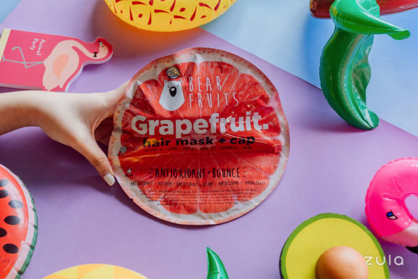 bear fruits grapefruit hair masks