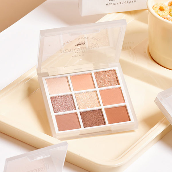 etude milky new year banana milk eyeshadow palette
