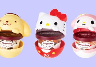 sanrio ice cream cups cover