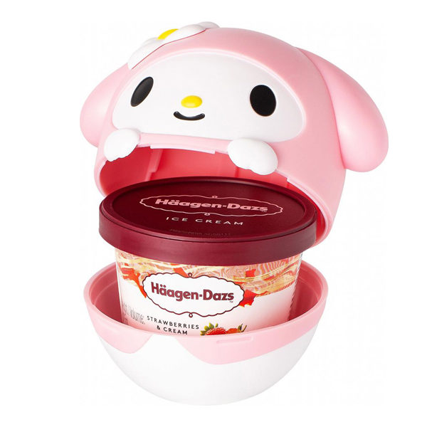 sanrio ice cream cups