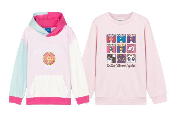 sailor moon crystal hoodie sweater