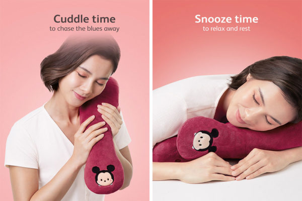 osim massager disney cuddle and snooze collage