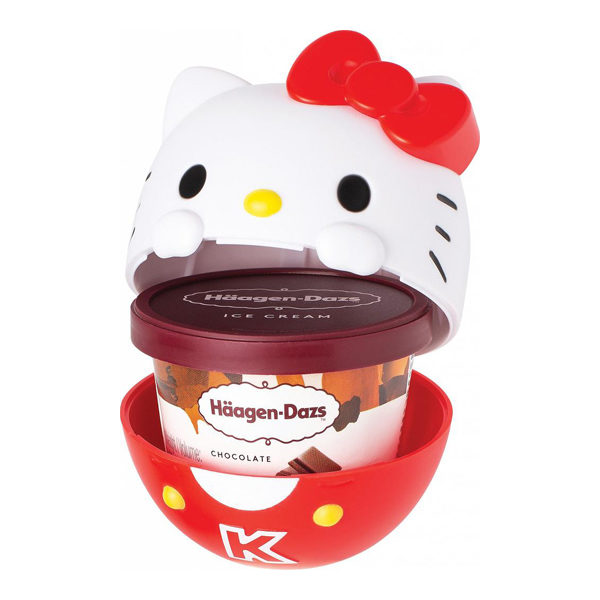 sanrio ice cream cups hello kitty