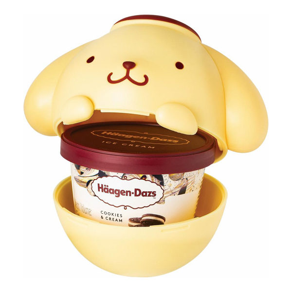 sanrio ice cream cups pompompurin