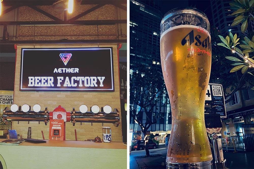 happy hour deals beer factory