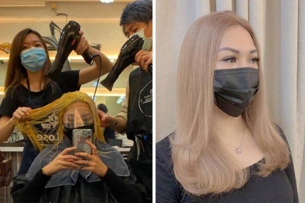 bleach hair singapore