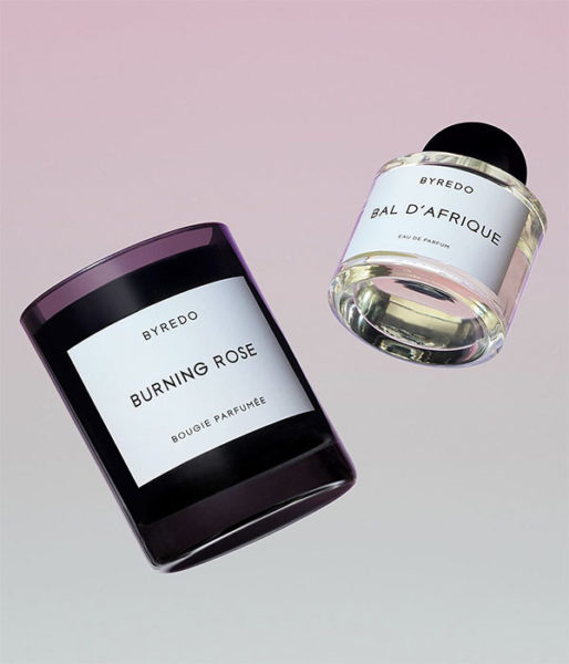 byredo perfume and candle