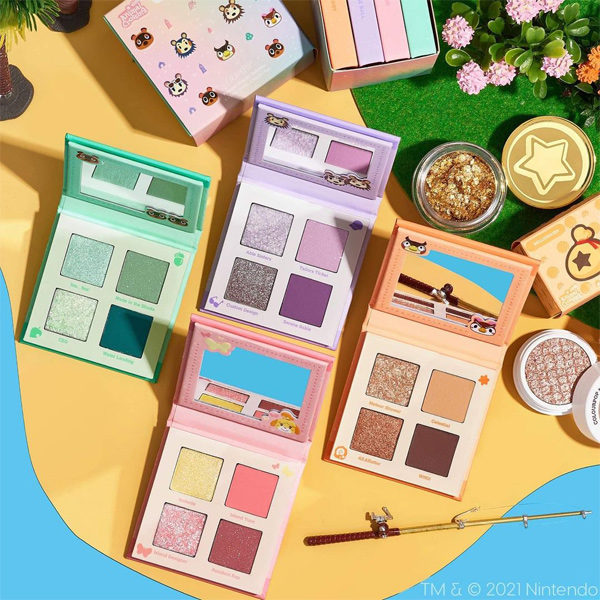 colourpop animal crossing eyeshadow