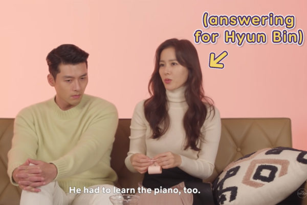 hyun bin so ye jin speaking for each other