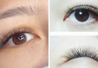 lash extensions cover