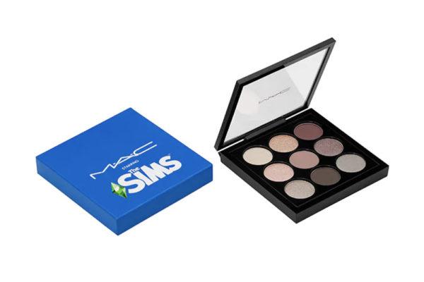 mac x the sims eyeshadow palette