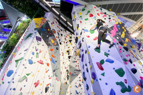 activities blow off steam - rockclimbing funan