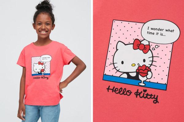 hello kitty girls' shirt
