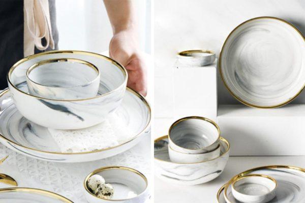 aesthetic tableware banfang