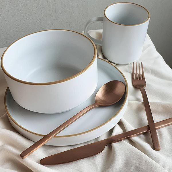 aesthetic tableware snio